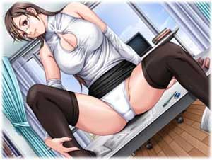 An hentai game demo. ? Author: dtd. 05.02.2008