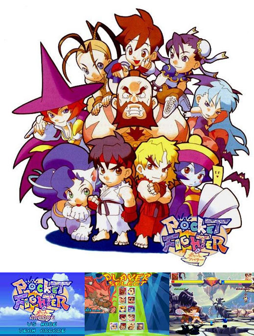 Pocket Fighter (mugen)