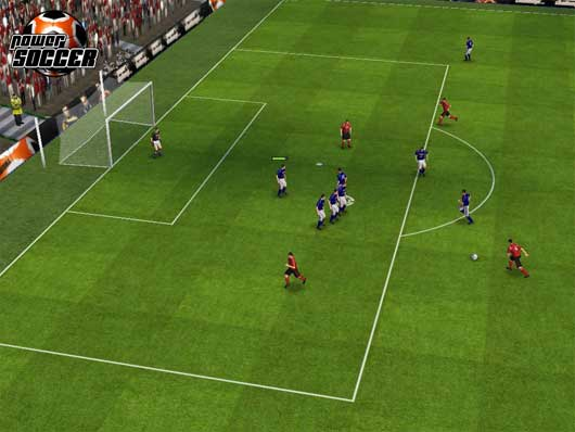 POWER SOCCER (Browser game)