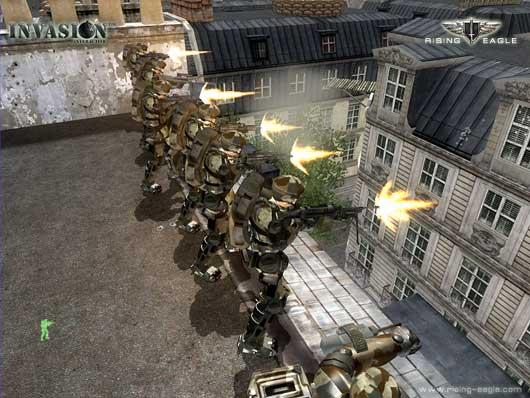 Rising Eagle: Futuristic Infantry Warfare Multiplayer Demo
