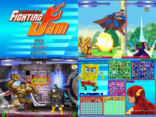 Mugen Fighting Jam Screenpack