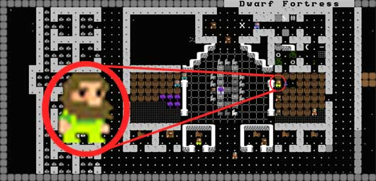 DWARF FORTRESS (Graphic Release)