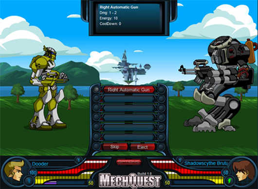 MECHQUEST (BROWSER GAME)