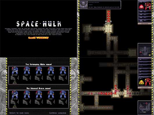 SPACE HULK v1.0 (Board Game Remake)