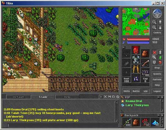 Tibia Online Screenshot