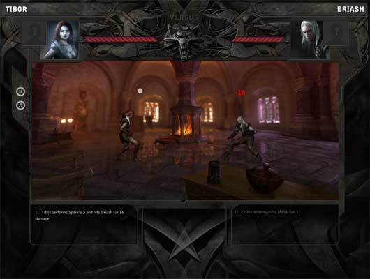 The Witcher: DuelMail (browser game)