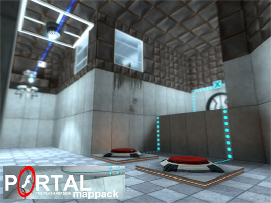 Portal The Flash Version Mappack