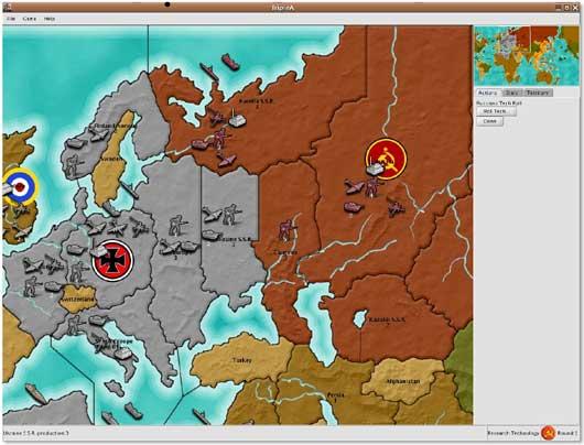 AXIS and ALLIES TripleA (Java)