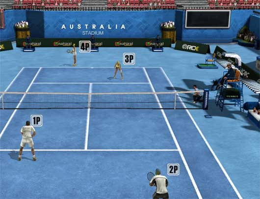 Golden Slam (Tennis mmo)