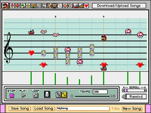 Mario Paint Composer (remake)