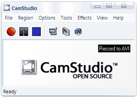 CAMSTUDIO (Free screen recording software)
