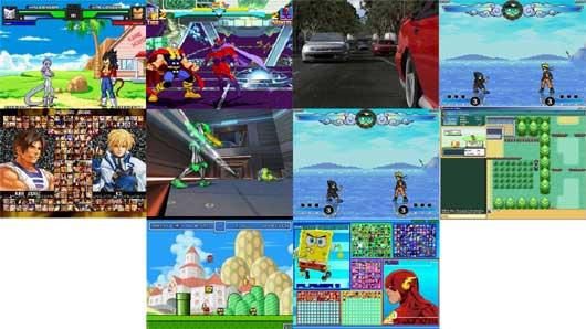 Top Ten Games Downloaded from G4G.it