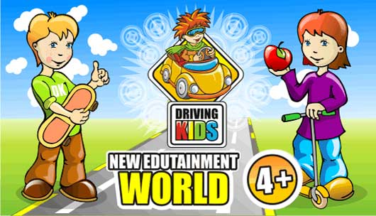 Driving Kids (edutainment game for kids)