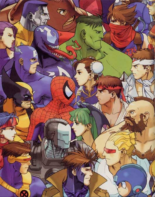 Marvel VS Capcom 2 FE version 1 (mugen)