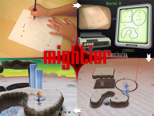 Mightier v1.1 (experimental puzzle-arcade)