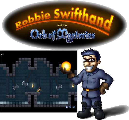 Robbie Swifthand And The Orb Of Mysteries!