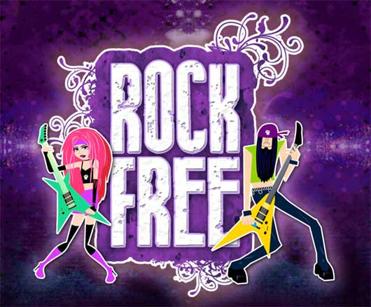Rock Free (browser)