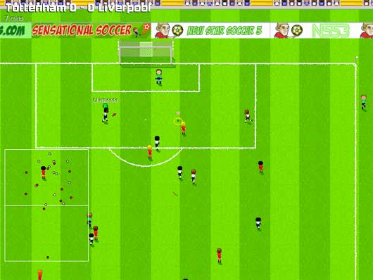 Sensational Soccer (browser)