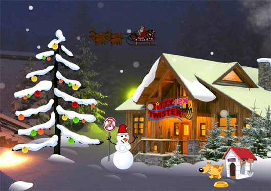 Bad Santa: XXXmas tale (flashgame)