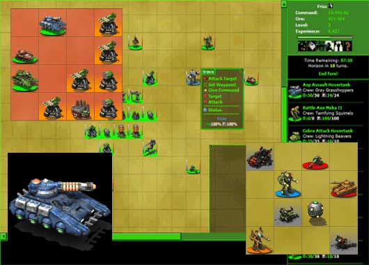 Tiny Warz expansion Shadow Wars (Browser)