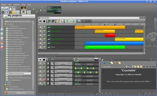 LMMS v0.4.2 – Linux Multimedia Studio