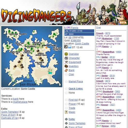 DicingDangers (browser)