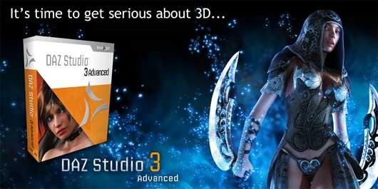 DAZ Studio 3 Advanced (beta)