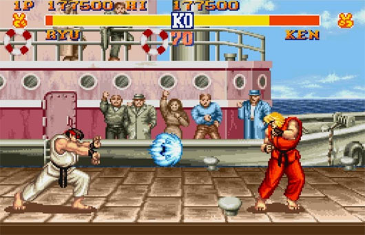 Street Fighter 2 CE in flash