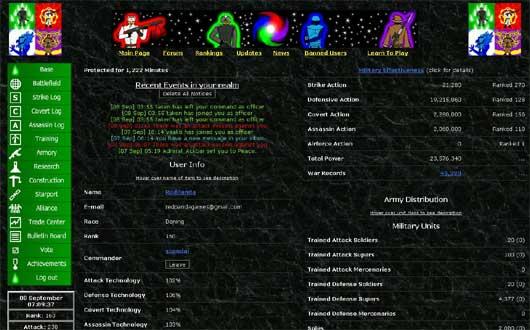 Aderan Wars (browser)