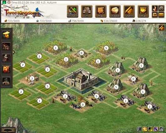 Three Kingdoms Online (broswer)