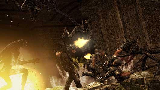 Aliens vs Predator Multiplayer Demo