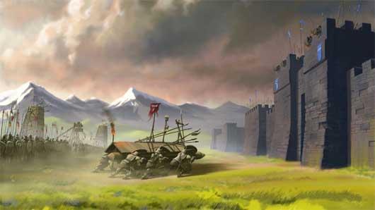 Kingdoms at War goes Flash