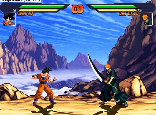 descargar dragon ball vs naruto mugen