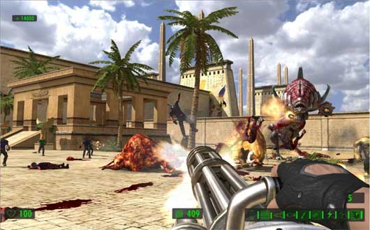 Serious Sam HD The Second Encounter Multiplayer is Free to Play