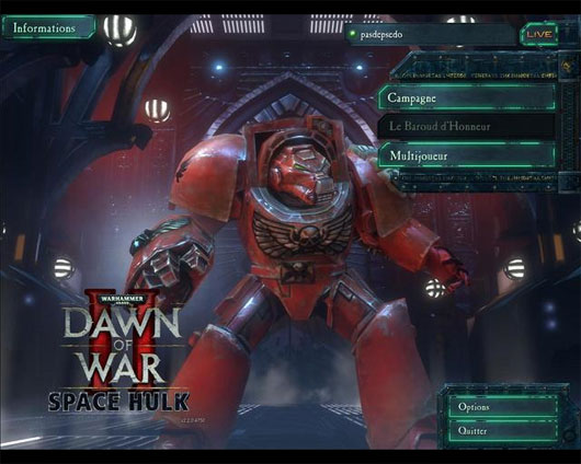Dawn of War 2 – Space Hulk Mod