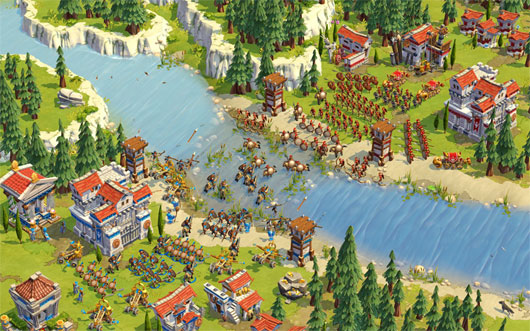 Age of Empires Online opens today