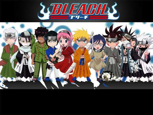 Bleach vs Naruto in Flash