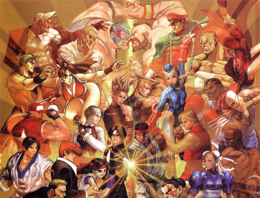 Mugen Street Fighter VS SNK
