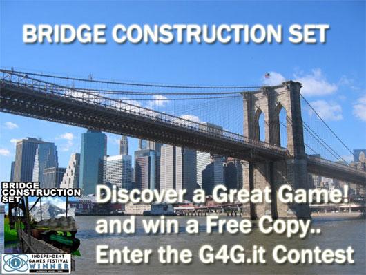 Bridge Construction Set GiveAway!