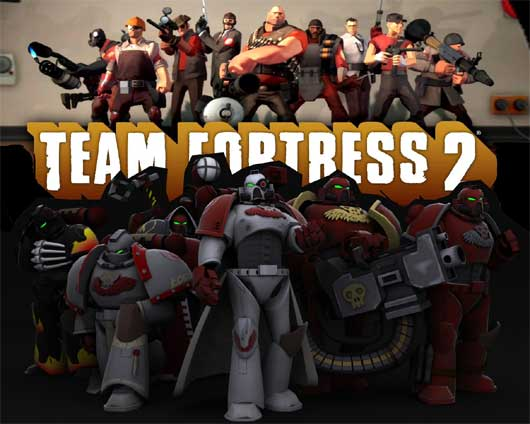 WarHammer 40k Team Fortress 2 Mod
