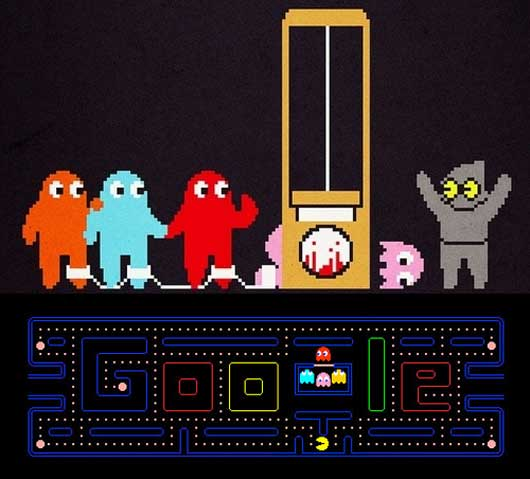 PacMan on Google