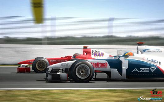 RaceRoom Racing get released on Steam