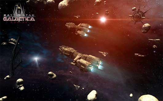 Battlestar Galactica Online Gameplay Trailer