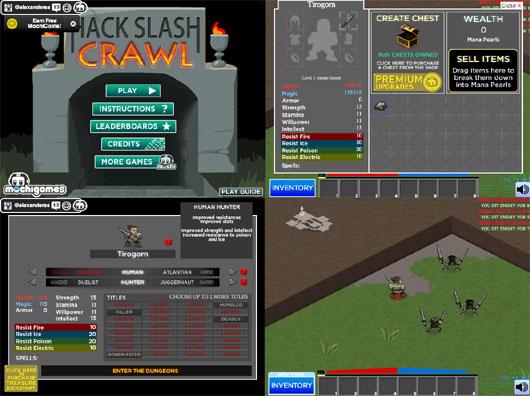 Hack Slash Crawl, Stwalt and others