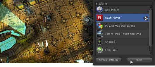 Make 3d Flashgames with Unity 3d
