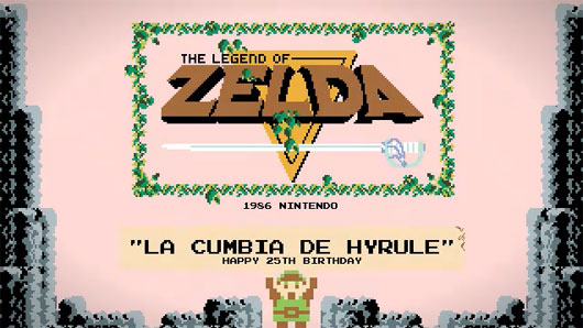 The Legend Of Zelda Cumbia and P4KO