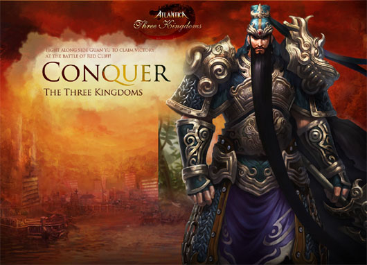 Atlantica Online goes in the Three Kingdoms