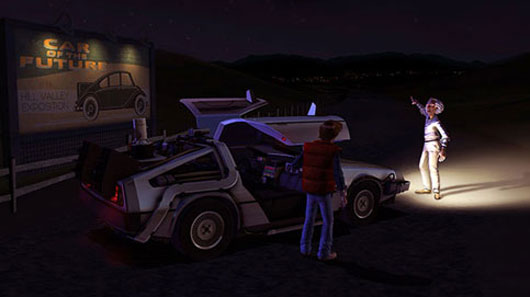 The Back to the Future: Episode 1 Free-For-All