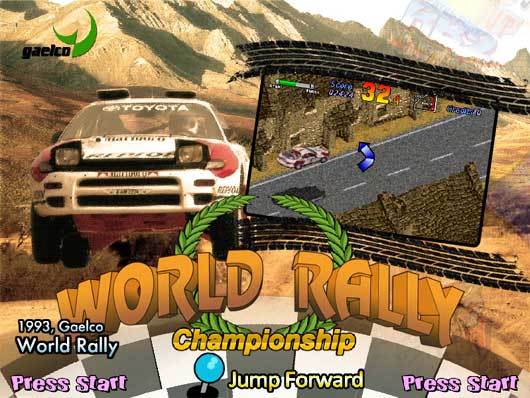Gaelco World Rally