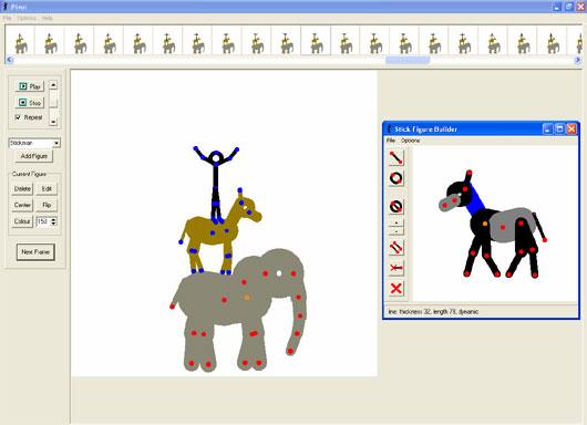 pivot stickfigure animator games play free online